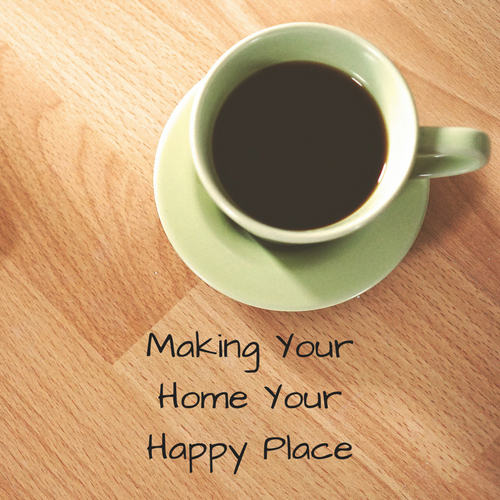 Making Your Home Your Happy Place Skirt Girlie