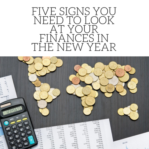 Five Signs You Need to Look at Your Finances In the New Year • Skirt ...
