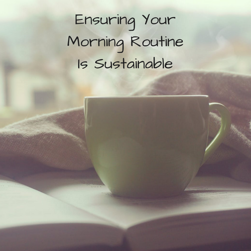 sustainable-morning-routine