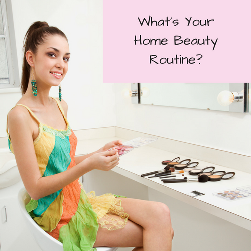 home-beauty-routine